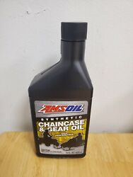 Amsoil Synthetic Chaincase And Gear Oil Snowmobile And Atv