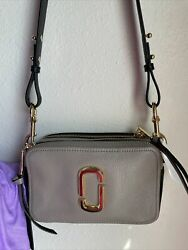 NWOT The MARC JACOBS THE SOFTSHOT 21 CROSSBODY BAG. $190.00