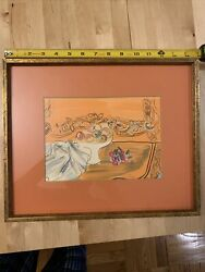 Raoul Dufy After - Framed Print - Lithography - Still Life With Fruit