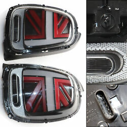 For 2014-2018 Mini Cooper F55 F56 F57 Led Tail Lights Brake Lamps Red
