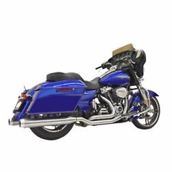 Bassani Manufacturing True-dual Exhaust - Stainless Steel - M8 1f66ss