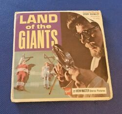 Rare Gaf B494 Land Of The Giants Sci-fi Tv Show View-master Reels Packet