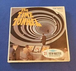 Sawyer's B491 The Time Tunnel Rendezvous Sci-fi Tv Show View-master Reels Packet