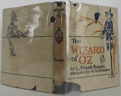 L Frank Baum / The Wizard Of Oz 1913 Early Edition 2102020