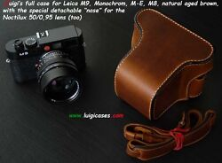Luigiand039s Full Case For Leica M9mmm-em8fits Noctilux 0.95natural Agedreduced