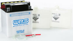 Wps Cb30cl-b Conventional 12v Heavy Duty Battery With Acid Pack Yb30cl-b