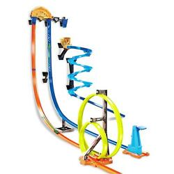 Track Builder Vertical Launch Kit 3 Configurations Kids Fun Racing Play Toys New