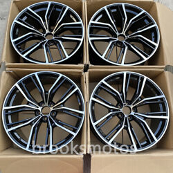 22 New Concave Style Wheels Rims Fit 2019+ Bmw X5 2020+ X6 5x112 701 Set Of 4