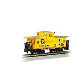 Bachmann 17709 Ho Scale 36and039 Wide Vision Caboose Chessie System C3966 Bando