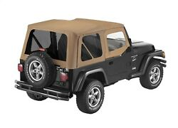 Bestop 79124-37 Sailcloth Replace-a-top Spice For 97-02 Jeep Tj Wrangler