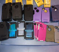 Lot Of 22pc Original Otterbox Cases /covers For Iphone 4 And 4s
