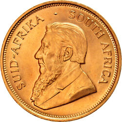 [895718] Coin South Africa Krugerrand 1974 Ms Gold Km73