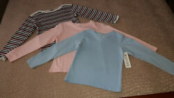 NEW Girl#x27;s Tops Tees T Shirts Nordstrom and Aspire Size M $4.99