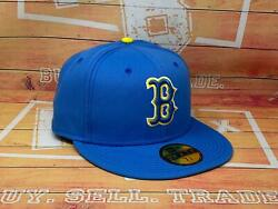 2021 Boston Red Sox City Connect Off New Era 59fifty Fitted Mlb Hat Sz 7 3/8 New