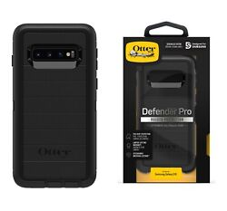 OtterBox Defender Series Case and Holster for Samsung Galaxy S10 Black