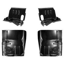 Cab Mount Floor Support And Floor Pan Kit For 80-98 Ford F-series Pickup Bronco