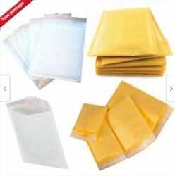 Mail Lite / Lites Padded Bags Envelopes 'all Sizes' +free Del - White And Gold
