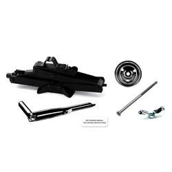 1964 - 1965 Mustang Scissor Jack Kit With Handle Mounting Hardware And Decal