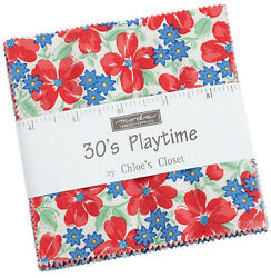 30's Playtime Moda Charm Pack 42 100 Cotton 5 Precut Fabric Quilt Squares