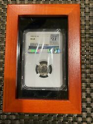 Rare 1996-w Roosevelt Dime Ngc Ms68 90 Full Torch Mac Graded Spotless .