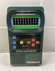 Vintage Mattel Electronic Football Ii 2 1978 Tested Works Great