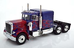 Peterbilt 359 Tractor Truck 3-assi 1967 Blue Red Road-kings 118 Rk180083 Model