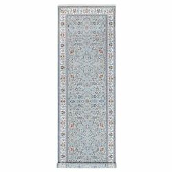 5and039x16and0395 Gray Nain 300 Kpsi Wool And Silk Hand Knotted Gallery Size Rug G62347