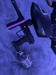 Planet Eclipse Etha 2 Paintball Marker, Black, Pal-enabled,