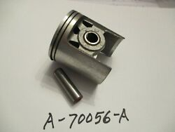 New Homelite 450 Piston, Rings, Pin  Pn A-70056-a Thin Rings