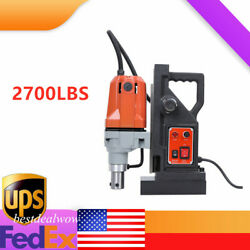 Magnetic Drill Press 1-1/2 Boring 2700lbs Magnet Force Full New