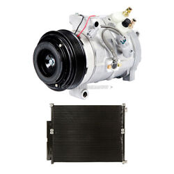 For Lexus Gx470 Toyota 4runner Oem Ac Compressor W/ A/c Condenser And Drier Tcp
