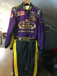 Matt Kenseth,race Used Crown Royal Iroc Series Champion ,sparco Drivers Suit