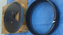 1957 1958 Chevrolet Nos Continental Kit Tire Ring And Face Plate