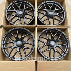 23 Forged Satin Black Wheels Rims Fits For Mercedes Benz W463 Wa463a G Class