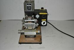 Kingsley Atd-106 Hot Foil Stamping Machine Pneumatic With Accessories Et1