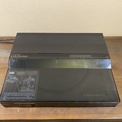 Vintage Add On Record Player Turntable To Da-1000 Mitsubishi Cassette Receiver