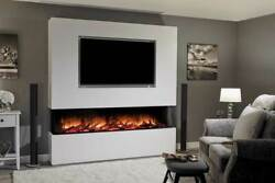 Hole In Wall Recessed Mounted Hung Electric - Flamerite Fires Glazer 1800 Nitra
