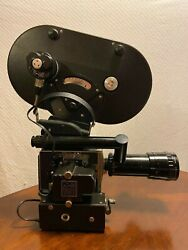 Bolex H16-m With Two 400ft Mags Electric Motor Carry Case Owners Manuals