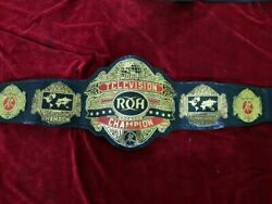 Roh Ring Of Honor World Television Championship Wrestling Belt 4mm Brass