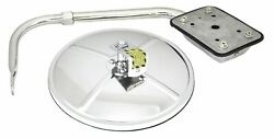 Gg Convex Mirror Assembly Hood Mount 8 Stainless Steel Center Mount 33392 Each