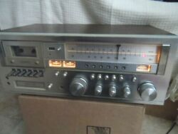 Vintage Jcpenney Am/fm Receiver Stereo Cassette / 8 Track Player Recorder