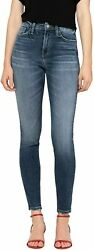 Flying Monkey Womenand039s High Rise Skinny Ankle Jeans