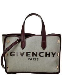 Givenchy Mini Bond Canvas amp; Leather Tote Women#x27;s $998.48