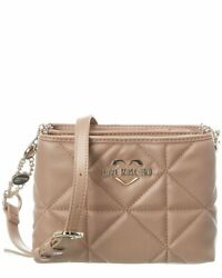 Love Moschino Quilted Crossbody Women#x27;s Brown $134.99