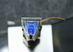 Zyx Airy 3 S Mc Phono Cartridge Yamamoto Sound Craft Hs-3 Headshell Used Japan