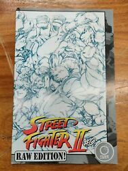 Stree Fighter Ii 0 Fn/vf Raw Variant Sketch Cover Udon Comics Capcom 2005