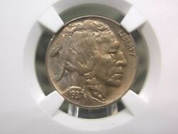 1937 D Buffalo Nickel 5c 3 Leg Ngc Ms62 East Coast Coin And Collectables Inc.