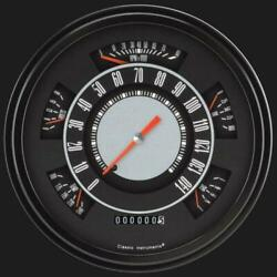 1966-1977 Ford Bronco Original Style Gauges Classic Instruments Fb66oe Usa