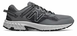 New Balance Men#x27;s 410v6 Trail Shoes Grey with Grey amp; Black $51.69