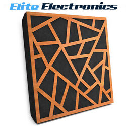 Elite Sound Acoustics Panel 70mm Foam For Home Theaters Skyros Cherry